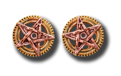 Penta Meridia Earrings for Balance and Development